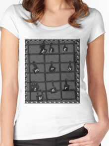 Elementary Locked Variant 2.0 Women's Fitted Scoop T-Shirt