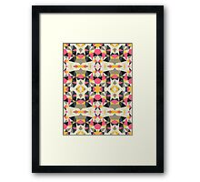 Lemonade Stand Tribal Framed Print