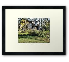 """""""The Old Home Place""""... prints and products Framed Print"""