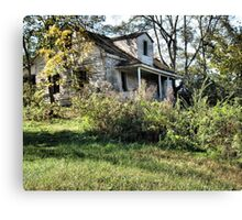 """The Old Home Place""... prints and products Canvas Print"