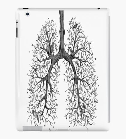 Branched lungs iPad Case/Skin