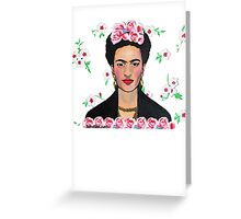 Frida in the Flowers Tee Greeting Card