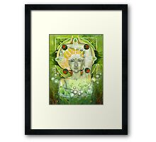 Materia: Earth Framed Print