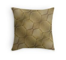 Wrapped Cardboard Texture Throw Pillow