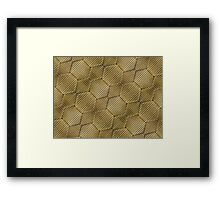 Wrapped Cardboard Texture Framed Print