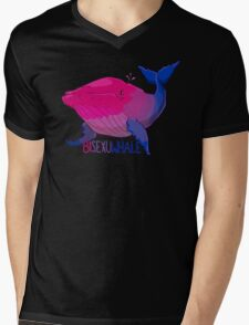 Bisexuwhale - with text T-Shirt