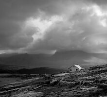 Lone Cottage, Southern Ireland by John Hall