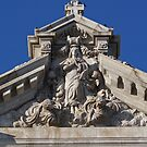 Pinnacle of Basilica of St. Mary's by WolfPause