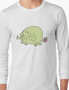E for Elephant Long Sleeve T-Shirt