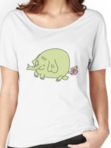 E for Elephant Women's Relaxed Fit T-Shirt