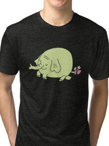 E for Elephant Tri-blend T-Shirt