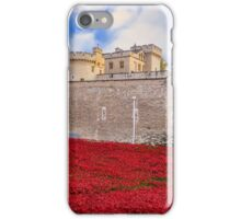 Tower Of London Poppy Display iPhone Case/Skin