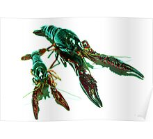 Two Crawly Critters Poster