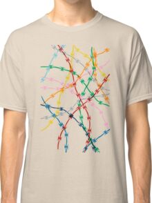 Trapped on White Classic T-Shirt