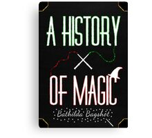 History Of Magic 2 Canvas Print