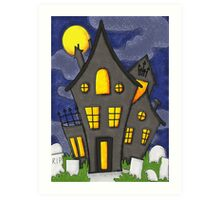 Huanted House Art Print