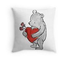 Pooh - Valentine Throw Pillow