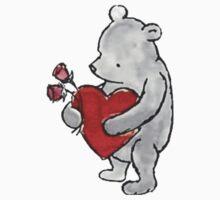 Pooh - Valentine Kids Clothes