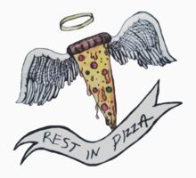 rest in pizza. T-Shirt