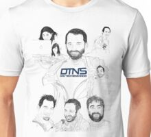DTNS Super Tech Drawing Shirts (assorted styles and colors) Unisex T-Shirt