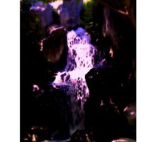 fascinating waterfall Photographic Print