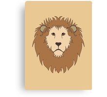 LEO, A LION Canvas Print