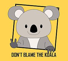 DON'T BLAME THE KOALA by Jean Gregory  Evans
