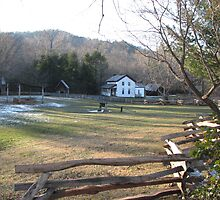 Gregg-Cable Mill House - Cades Cove by JeffeeArt4u