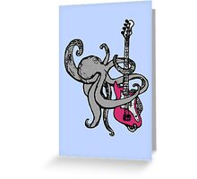 slap dat bass. (without caption) Greeting Card