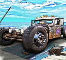 Beach Blanket Rat Rod by ChasSinklier