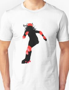 rockin' roller derby girl T-Shirt
