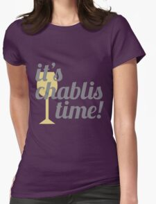 Chablis Time Womens Fitted T-Shirt