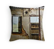 Inside Goodwin Mercantile Throw Pillow