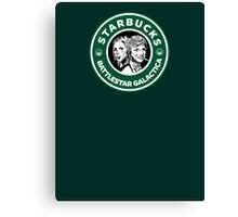 Starbucks BSG Canvas Print