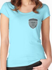 Lower Elements Police Women's Fitted Scoop T-Shirt