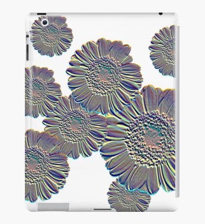 Flower relief iPad Case/Skin