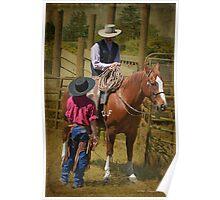Cowboy Wisdom Poster