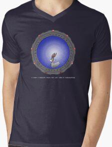 Left turn at Albuquerque Mens V-Neck T-Shirt