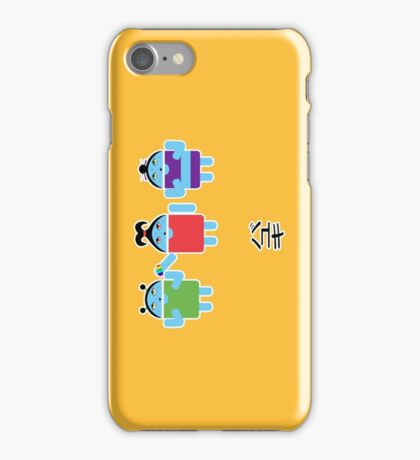 Droidarmy: Fruity Oaty Droids iPhone Case/Skin