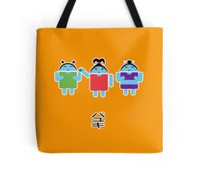 Droidarmy: Fruity Oaty Droids Tote Bag
