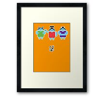 Droidarmy: Fruity Oaty Droids Framed Print