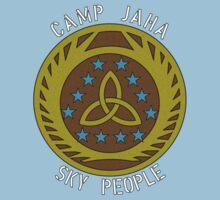 The Camp Jaha Sky People by BasiliskOnline