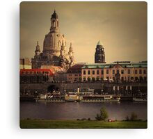 The City In Your Head - Dresden Canvas Print