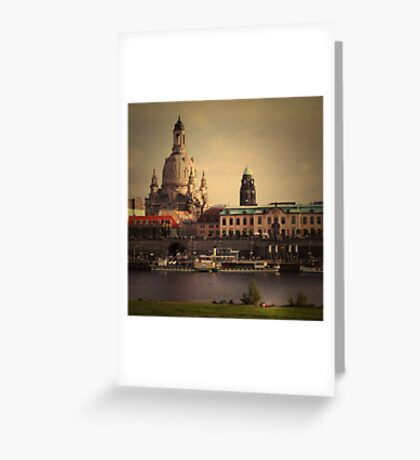 The City In Your Head - Dresden Greeting Card