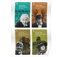 Doctor Who novels Penguin style Poster