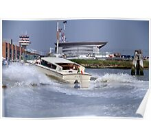 Water Taxi - Venice Poster