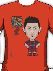 David Villa FC Barcelona T-Shirt