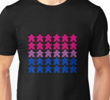 Bisexuality Pride (Meeple Edition) Unisex T-Shirt