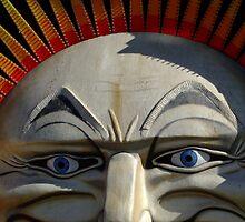 Bright Sunny Luna Park Face - St Kilda by kaevhe