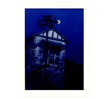 Queenslander Moon Art Print